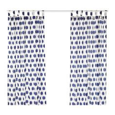 IKEA - SOMMAR 2017, Curtains, 1 pair, , The curtains lower the general light level and provide privacy by preventing people outside from seeing directly into the room.The tab heading allows you to hang the curtains directly on a curtain rod.