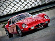 Red Hot! | Ferrari 250 GTO | photo by Autobellissima via Flickr.