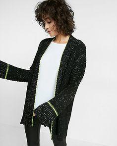 chunky knit coatigan