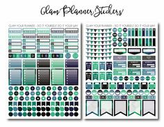 50% OFF SALE Mega Monthly Shade of Winter by GlamPlannerSticker