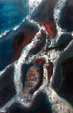 """Saatchi Art Artist Mo Tuncay; Painting, """"Aura"""" #art"""