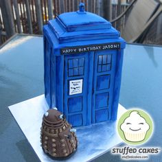 Stuffed Cakes: Dr. Who Cake