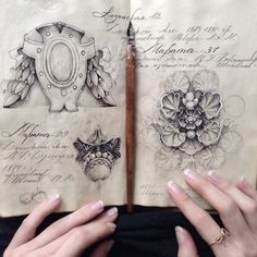 Elegant Dip Pen Illustrations Inside the Sketchbooks of Elena Limkina   Colossal