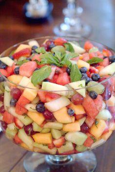 Bridal luncheon : Fruit Salad