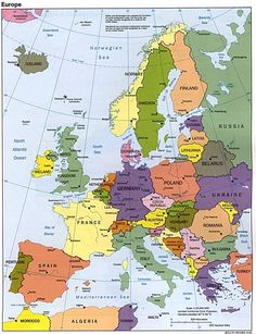 Europe Maps : writing has been updated. new images added. printable political map of europe with countries and Capitals. Places To Travel, Places To See, Travel Things, Travel Stuff, Poland Germany, Backpacking Europe, Travel Europe, Dream Vacations, Norway