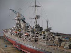 Prinz Eugen 1/350 Scale Model Diorama
