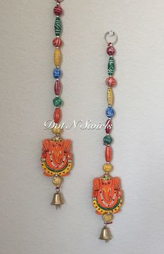 15 wall hanging/ lord ganesha/ festive decor/ diwali by dotnswirls Door Hanging Decorations, Diy Diwali Decorations, Festival Decorations, House Decorations, Clay Ganesha, Lord Ganesha, Diwali Diy, Diwali Craft, Indian Wall Decor