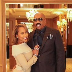 Marjorie and Steve Harvey - Marjorie Harvey Slayed Paris Fashion Week Like We Knew She Would Steve Harvey Family, Majorie Harvey, Black Celebrity Couples, Black Couples, Love Couture, Beautiful Wife, Black Love, Swagg, Love Fashion