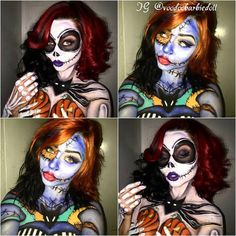 Sally Lips! | Halloween | Pinterest | Sally makeup, Sally and ...