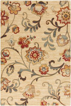 Surya Beige Arabesque ABS3027 Rug: Experts at merging form with function