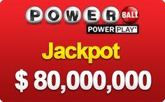 New Jackpot, the US PowerBall!  Draw 12 Jan, 2014