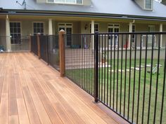 Pleasant metal fence ideas 17 metal fence designs fence designs by image result for attaching aluminium pool fence panels to wooden posts workwithnaturefo