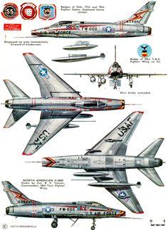 WINGS PALETTE - North American F-100 Super Sabre - USA