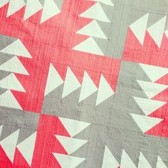 MSQC Pattern! Love this look in solids!