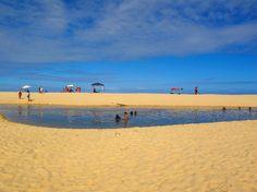 Praias brasileiras que são a cara do verão Piscina de água salgada, em Trancoso, sul da Bahia (foto: Cleide Isabel)