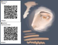 Digital Painting Tutorials, Digital Art Tutorial, Painting Tools, Art Tutorials, Paint Code, Brush Drawing, Art Folder, Custom Pens, Art Drawings Sketches