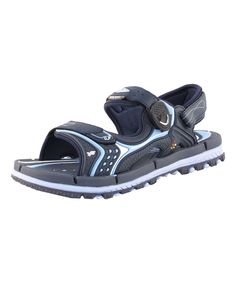 Navy & Light Blue Sandal - Adult