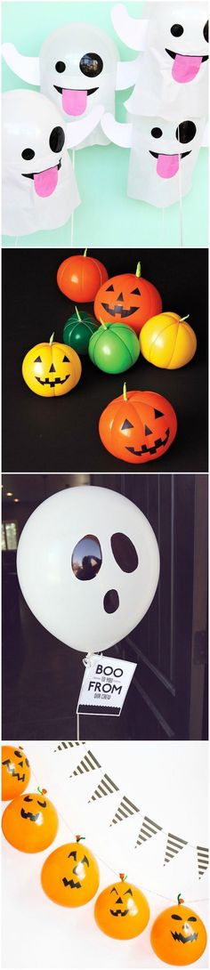 You can't host a perfect Halloween party without balloons. You're going to love these unique balloon decorations for All Hollows Eve - over 20 ideas here!