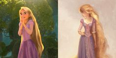 In the spirit of highlighting the power of a good metamorphosis, today we bring you the before and after moments of some fan-favorite Disney characters.