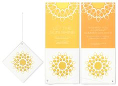 Hagopian Ink Summer and Winter Solstice Card
