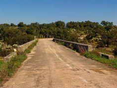 Antigua N-523 (EX-100). Río Salor. Tramo abandonado. #Cáceres #lascarreterasdeExtremadura