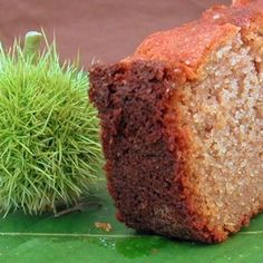 cake à la farine de châtaignes Fall Recipes, Sweet Recipes, Chrismas Cake, Yummy World, Desserts With Biscuits, Biscuit Cake, Gluten Free Cakes, Bakery, Dessert Recipes