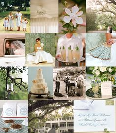 sweet-southern-comfort-wedding- french blue, magnolia blossoms, mint julep, glass lanterns