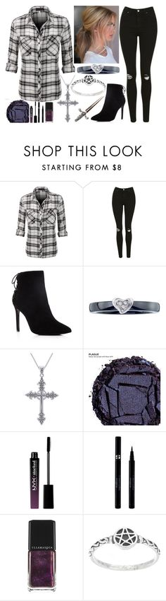 """""""10.04"""" by believe-dream-inspire ❤ liked on Polyvore featuring LE3NO, Topshop, Charles David, Modern Bride, Carolina Glamour Collection, Urban Decay, NYX, Sisley, Illamasqua and Wildfox"""