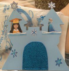Invitación de graduación Frozen