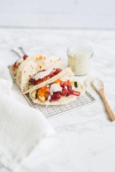 Vegetarische Burritos & indischem Joghurt » Geschmacksmomente