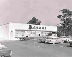 Bohack Supermarket  by Phil Trypuc's Old Photos of Center Moriches, via Flickr