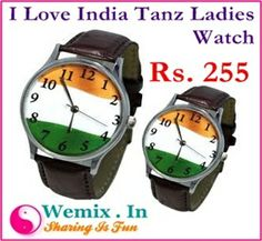 I LOVE INDIA Tanz Ladies Watch Rs. 255