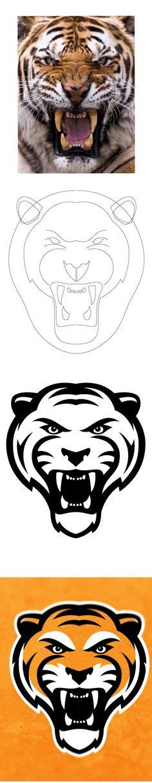 Tiger Logo by Steve Hardaway - Skillshare