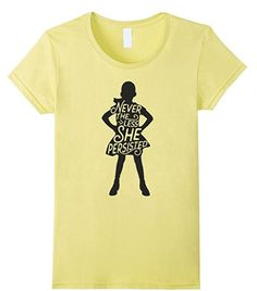 Fearless Girl Tee, Nevertheless She Persisted