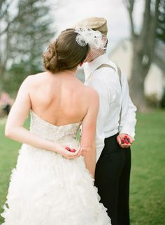 So awesome! Hunger games wedding.