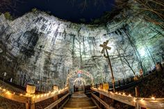 Natural Tunnel State Park to host Lighting of the Tunnel