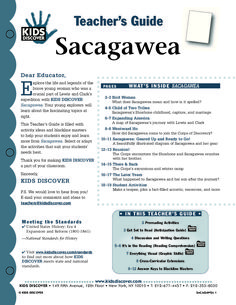 This free Lesson Plan for Kids Discover Sacagawea is packed with activities and assessments that will help kids learn about her indispensable role on the Lewis & Clark expedition and how she helped them succeed in crossing the Louisiana Purchase and reach the Pacific.