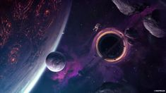 Desktop Wallpaper Fantasy, Planets, Space, Astronaut, Hd Image, Picture, Background, 07ee48