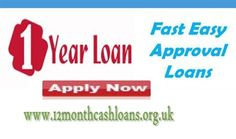 1 year loan are very convenient finance for the borrowers who are running in monetary crisis due to money. This fund does not need any applying procedures such as collateral pledging and upfront fee. #12monthloans :- http://12monthcashloans.org.uk/