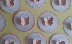 Tag Tema Borboleta. Personalizado com nome da criança. Medida: 3 cm Para outros tamanhos: 4 cm: 0,79 5 cm: 0,89