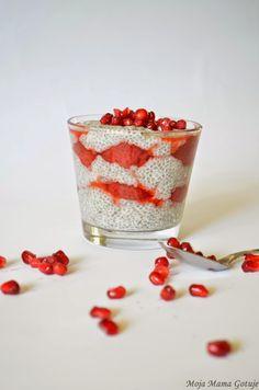 Moja Mama Gotuje...i bloguje.: Pudding z CHIA z dodatkiem truskawek