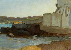 Vincenzo Cabianca - Forio d'Ischia 1872