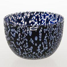 OIVA TOIKKA, SKÅL, glas, signerad O. Toikka Nuutajärvi. - Bukowskis Glass Design, Design Art, Finland, Modern Contemporary, Decorative Bowls, Scandinavian, Glass Art, Retro Vintage, Ceramics