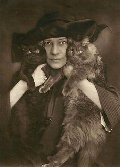 Tilla Durieux, 1924.