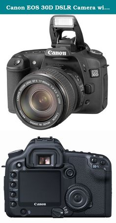 Canon EOS 30D DSLR Camera with EF-S 17-85mm f/4-5.6 IS USM Lens (OLD MODEL). 8.2-megapixel CCD captures enough detail for photo-quality 16 x 22-inch prints. Large 2.5-inch LCD monitor that can be viewed at extreme angles up to 170 degrees. High- and low-speed consecutive shooting (5 frames and 3 frames per second, respectively). Fully compatible with all EF and EF-S Lenses and a wide range of EOS system accessories; kit includes EF-S 17-85mm f4-5.6 IS USM lens. Powered by a lithium-ion...