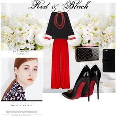 A fashion look from July 2016 by tammydevoll featuring Emilio Pucci, Christian Louboutin, Chanel and Klix