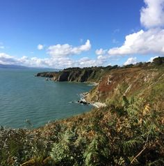 Breathtaking view from Howth cliff walk - Howth is a coastal town and peninsula that is not very far from Dublin City - Very very charming place ! Dublin City, Online Tickets, Northern Ireland, Cliff, Lighthouse, Trip Advisor, Coastal, Places, Outdoor