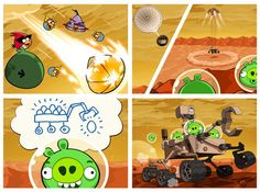Angry Birds and the Red Planet...