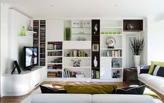 Stylish Open Plan Living – Fitted Lounges and Libraries – Neville Johnson