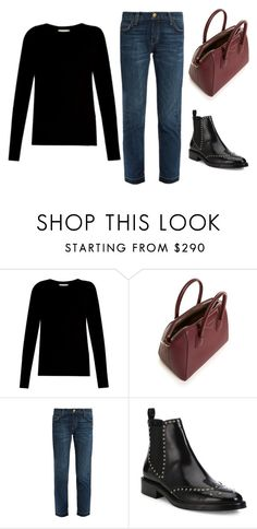 """Untitled #1022"" by outoftheblue143v ❤ liked on Polyvore featuring Vince, Givenchy, Current/Elliott and Burberry"